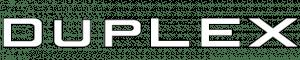 logotipo duplex empresa de materiales de construccion y reforma