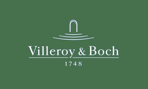 Logotipo Villeroy & Boch en blanco